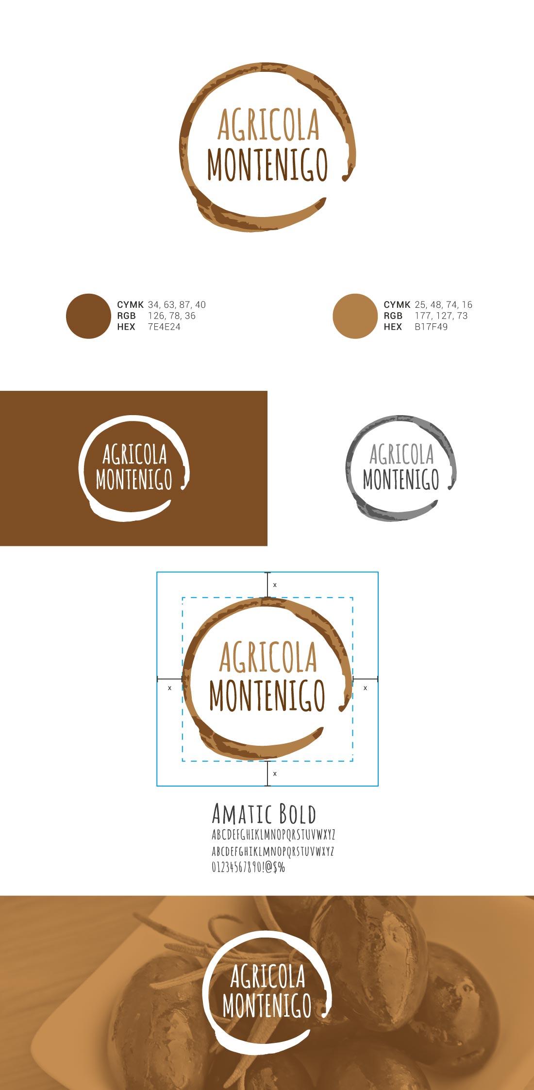 Agricolo Montenigo Presentazione Logo