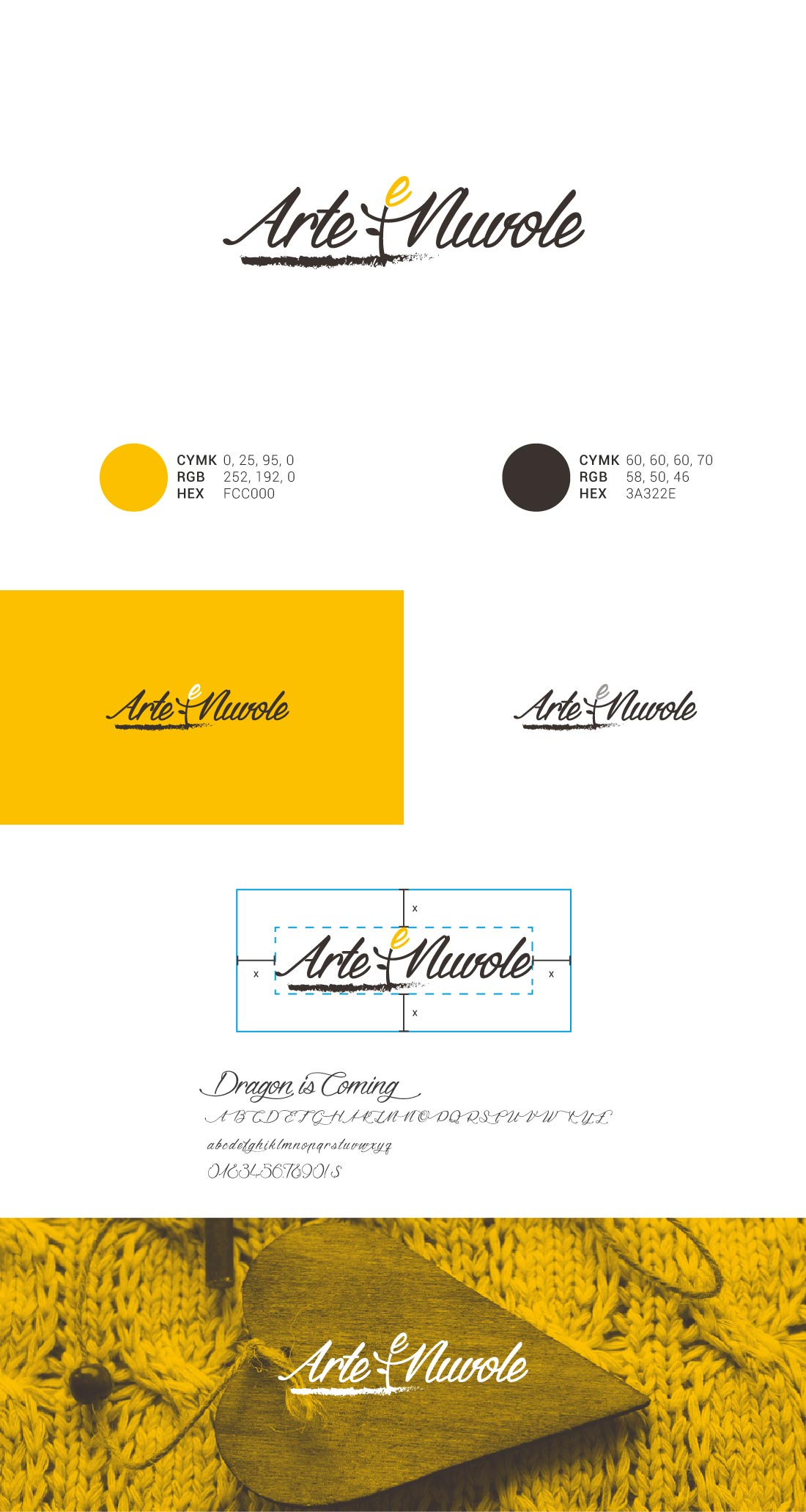 Arte e Nuvole Presentazione Logo