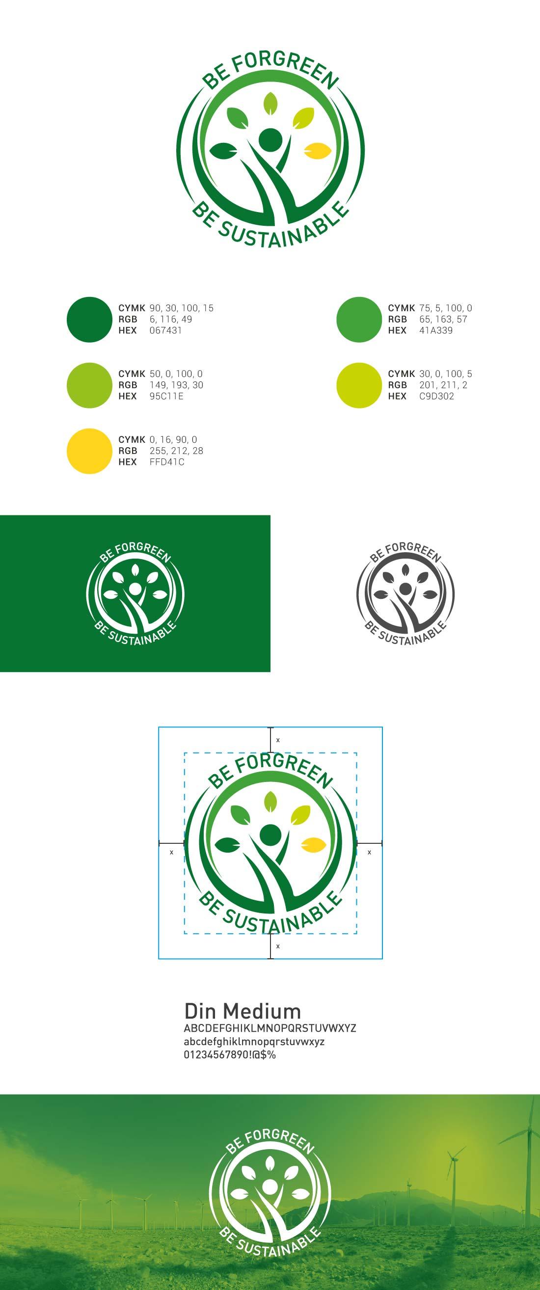 Be Forgreen Presentazione Logo