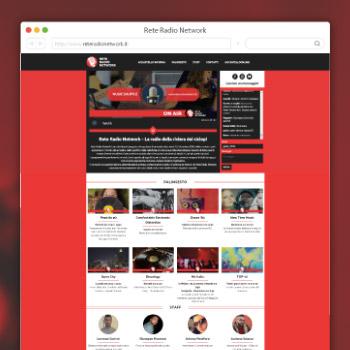 Rete Radio Network Sito Web