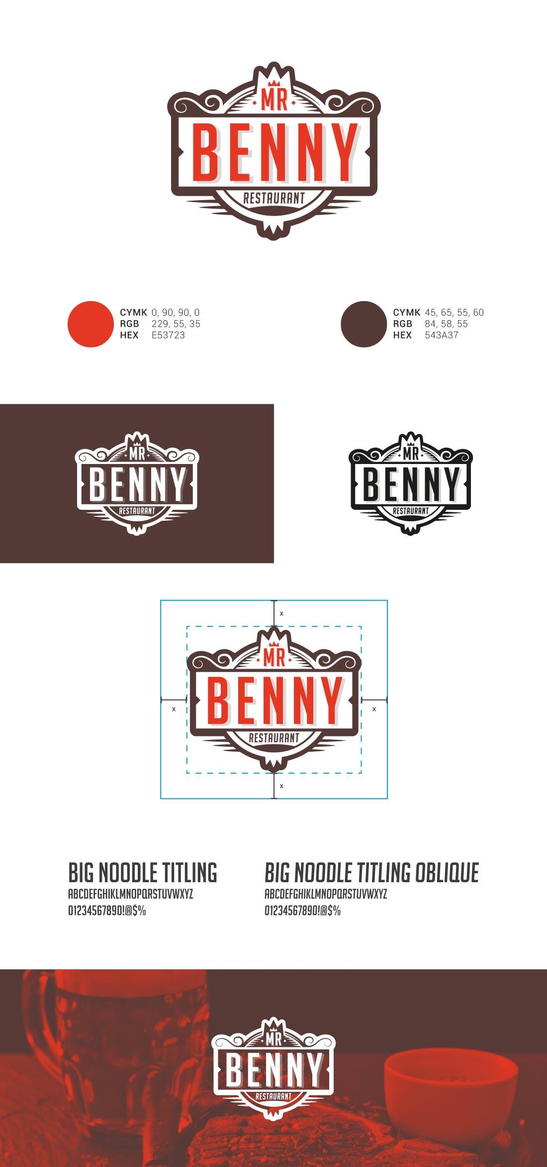 Mr. Benny Presentazione Logo