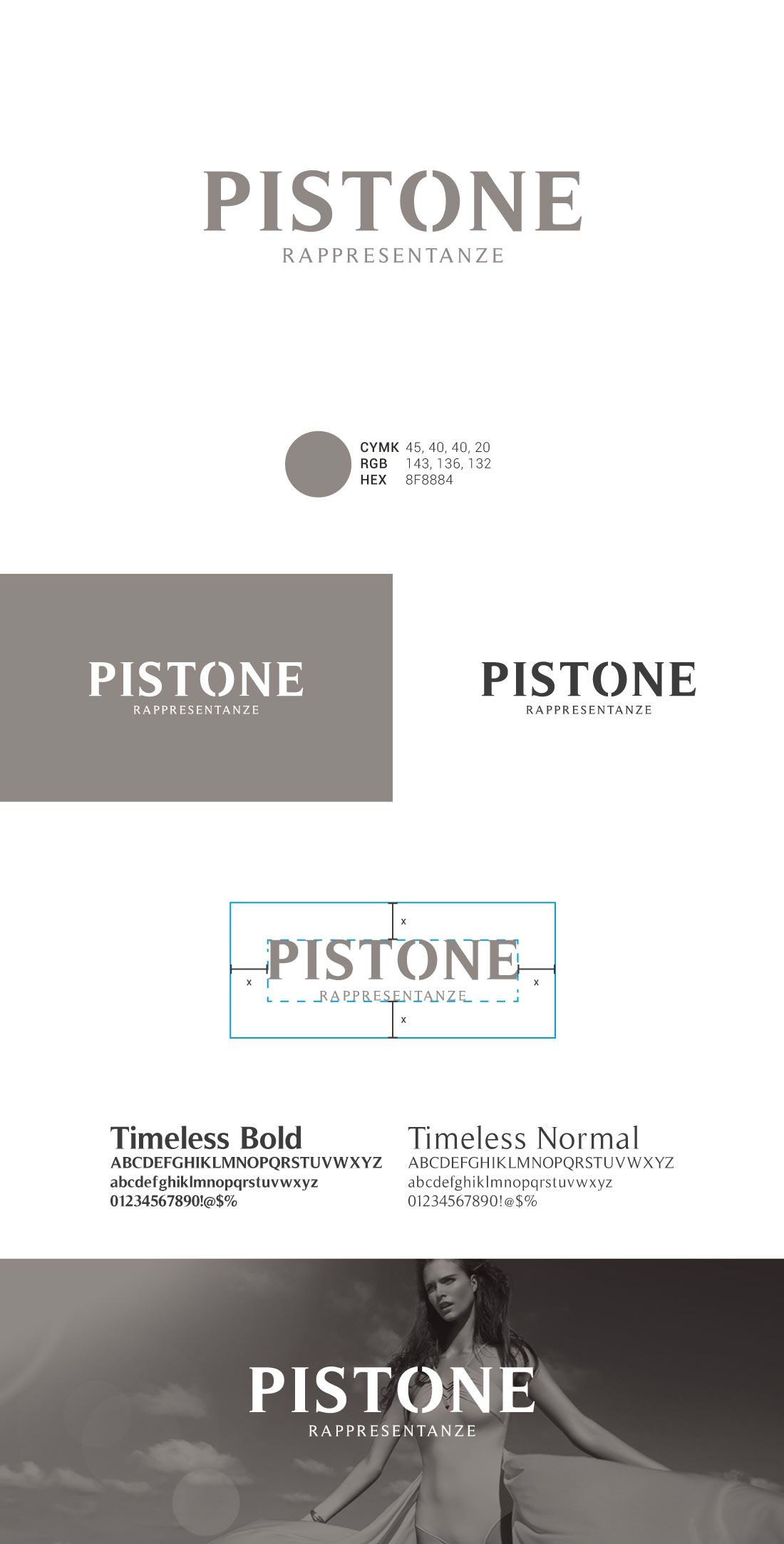 Pistone Presentazione Logo