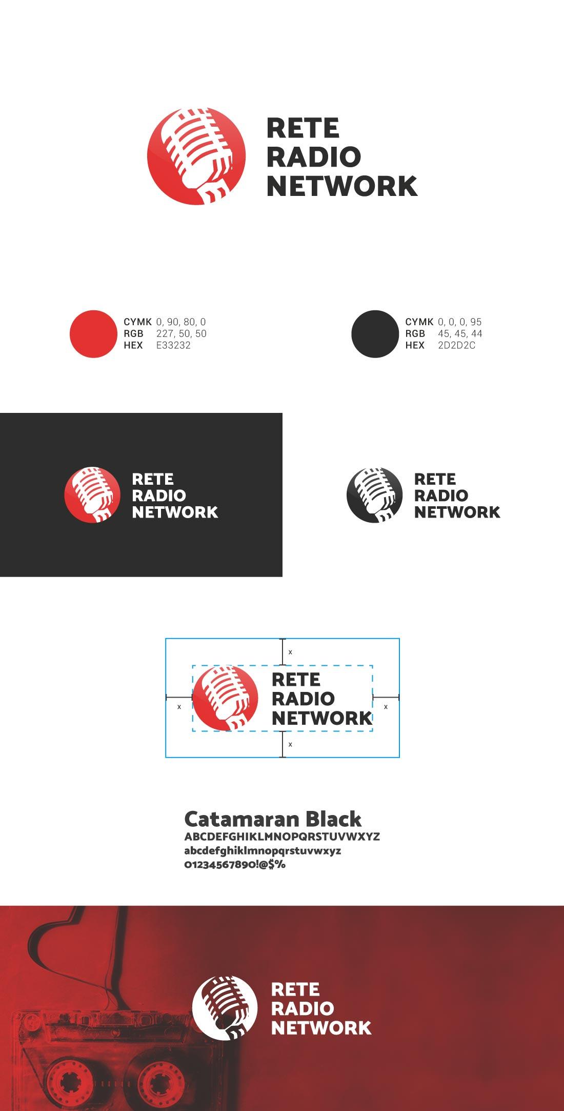 Rete Radio Network Presentazione Logo