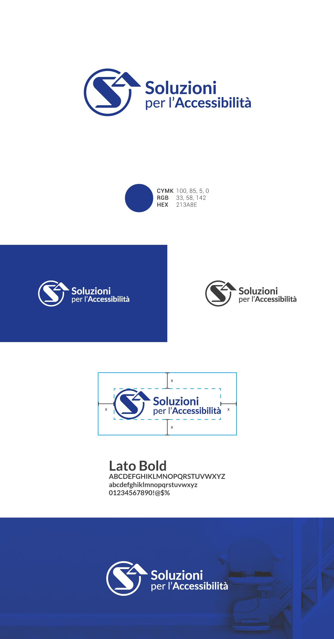 S.A. Presentazione Logo