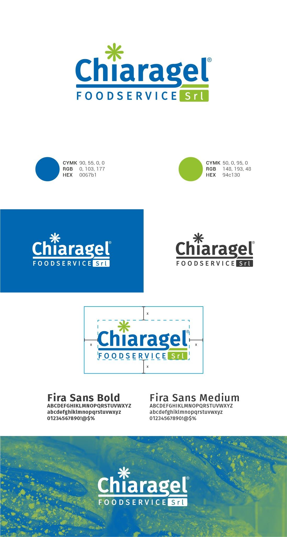 Chiaragel Presentazione Logo