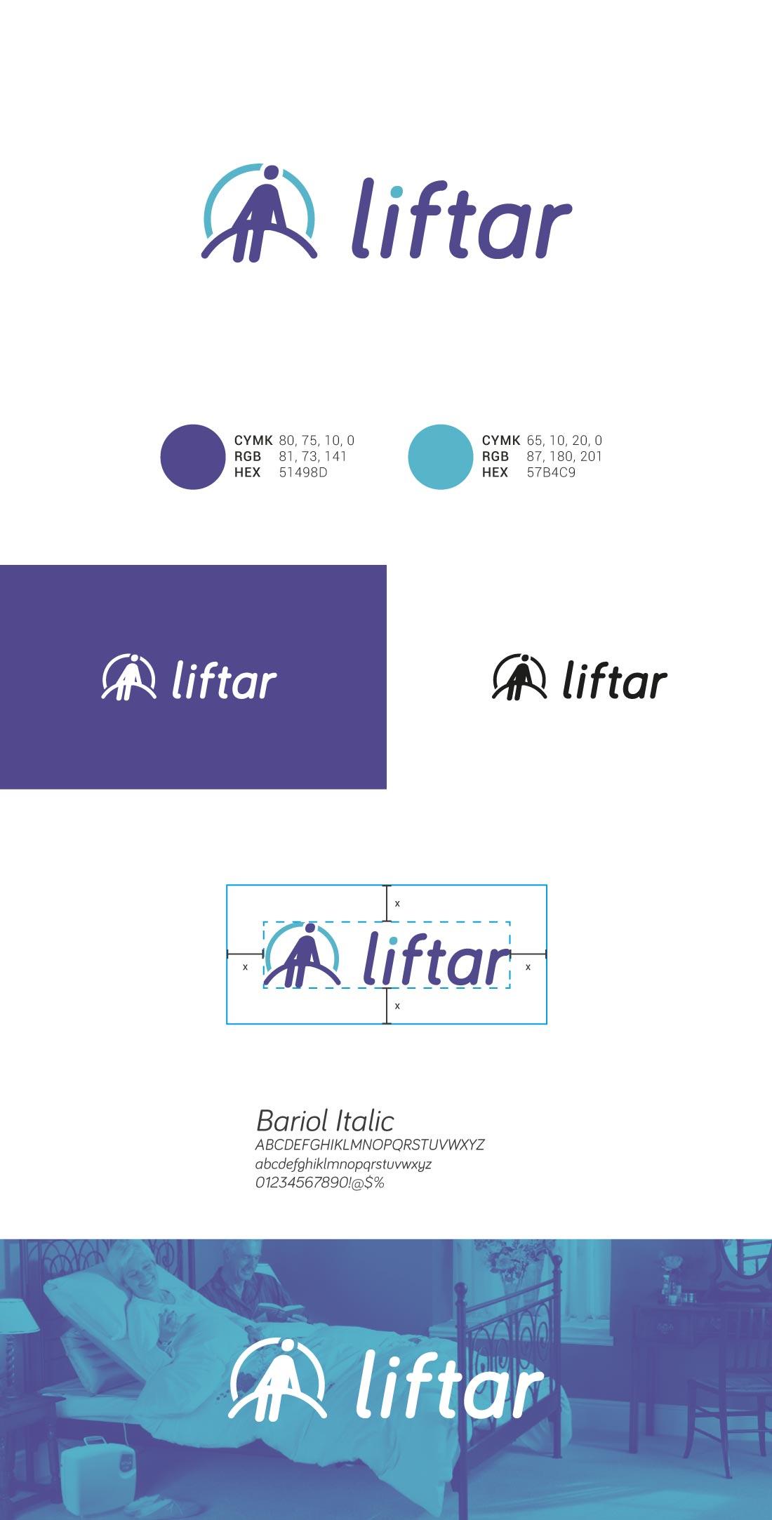 Liftar presentazione logo
