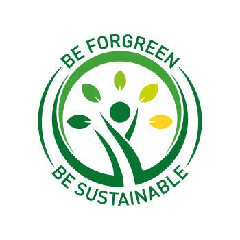 Be Forgreen Logo