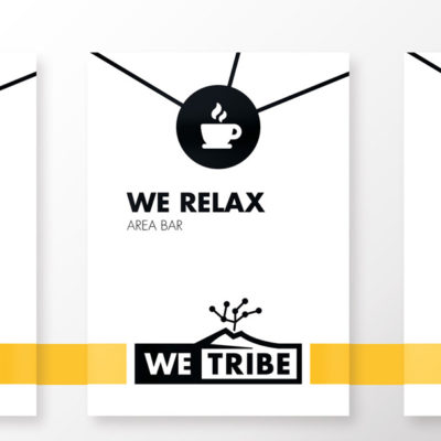 We tribe stampa